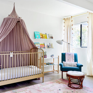 Inspiration for a 1960s nursery remodel in Los Angeles