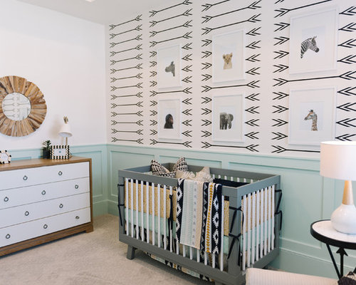 Best Scandinavian Salt Lake City Nursery Design Ideas