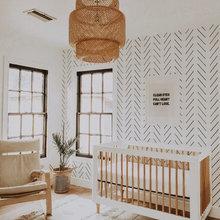 Non Rocket Chair Nursery
