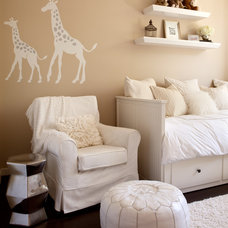 Contemporary Nursery by Melanie Stewart Interior Design