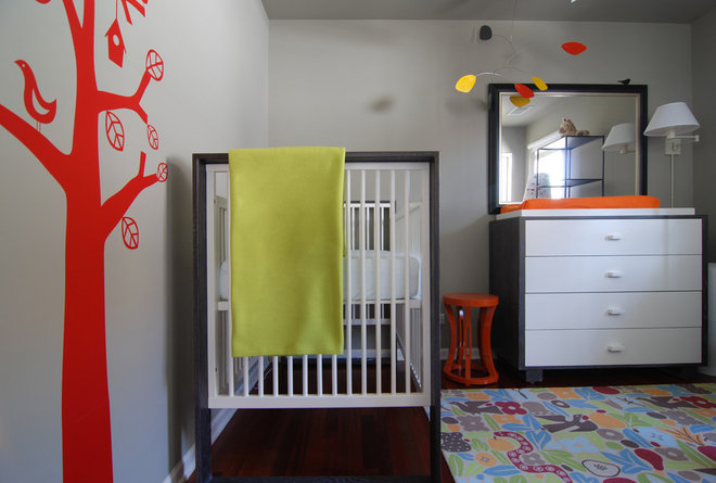 Modern Nursery by MJ Lanphier