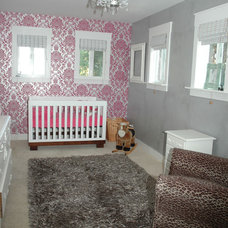 Contemporary Nursery by Hi Octane Design