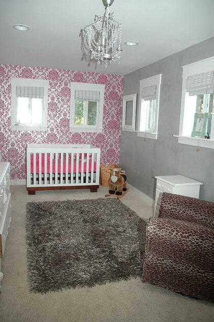Contemporary Nursery by Hi Octane Design