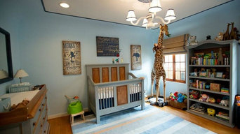 Modern Circus Themed Nursery