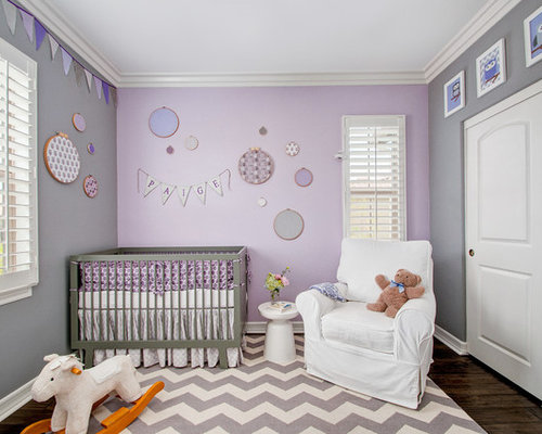 Purple Nursery Houzz