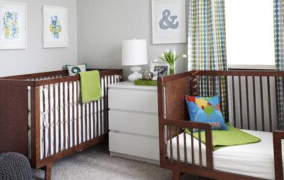 Popular Nursery Ideas A Mod Nursery Has Twice the Appeal
