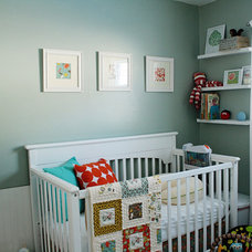 contemporary kids Modern Nursery