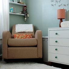 Transitional Nursery Modern Nursery