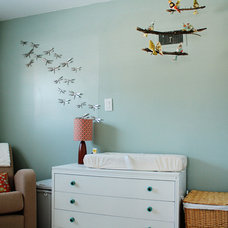 Contemporary Nursery Modern Nursery