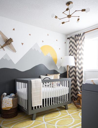 13 astuces pour am nager une chambre de b b cocooning for Choix de couleur pour chambre bebe