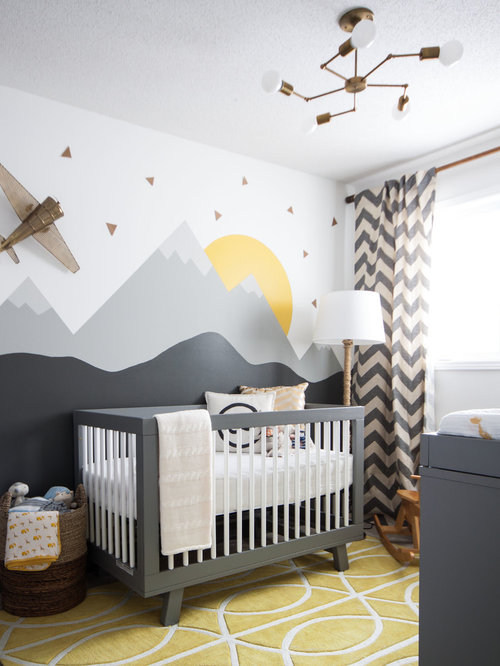 Nursery ideas designs remodels photos for Baby room decoration uk