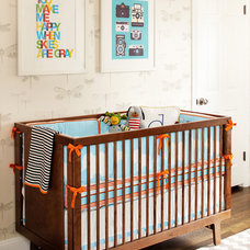 Modern Nursery by Niche Interiors