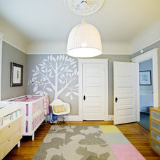 eclectic nursery by Regan Baker Design