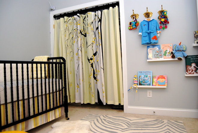 Contemporary Nursery by Nicole Lanteri