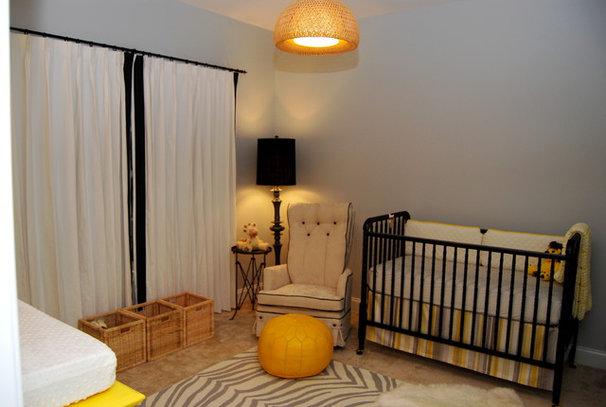 Traditional Nursery by Nicole Lanteri Design