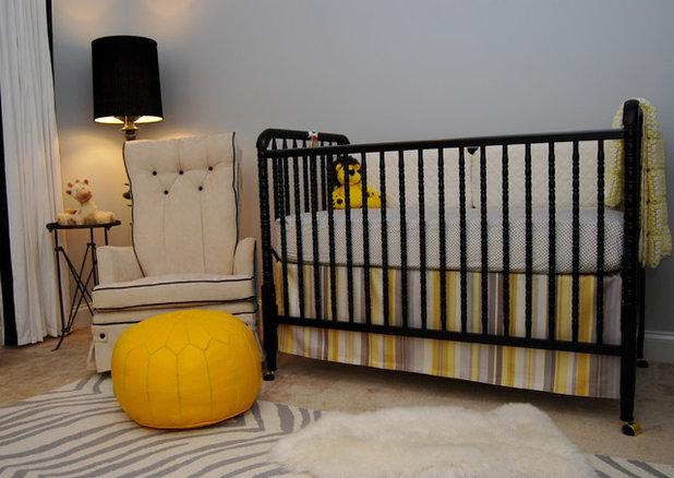 Contemporary Nursery by Nicole Lanteri Design