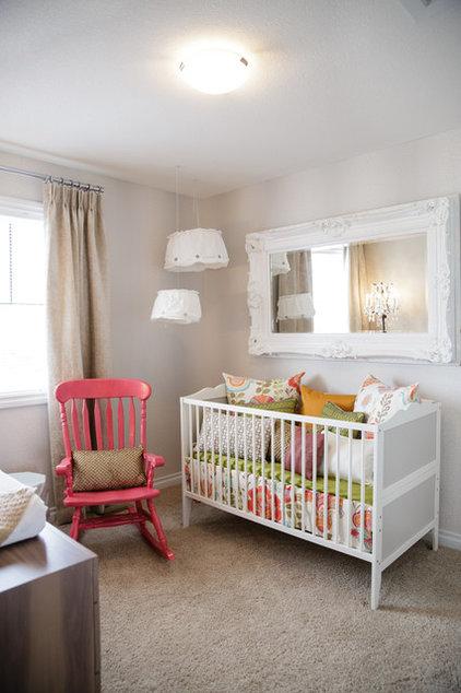 Mediterranean Nursery by Natalie Fuglestveit Interior Design