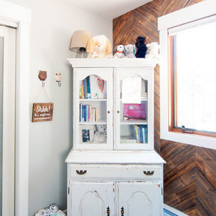 Inspiration for a country nursery remodel in Boston