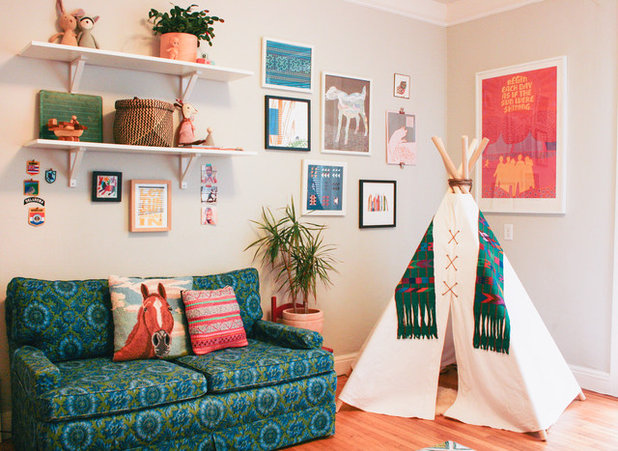 Eclectic Nursery by Nanette Wong