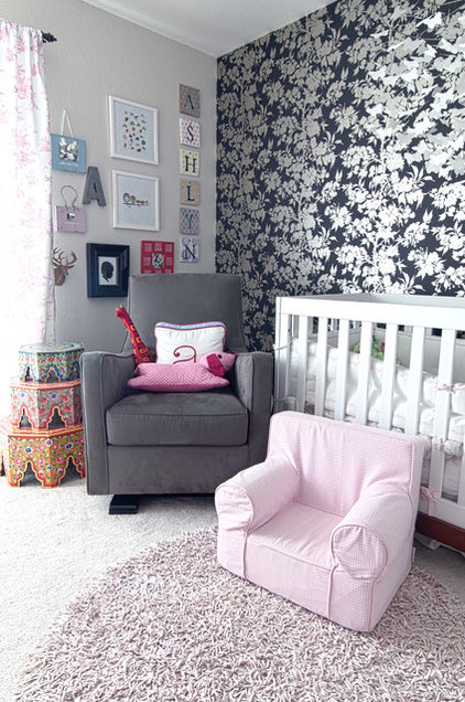 Contemporary Nursery by Alex Amend Photography