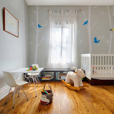 Contemporary Nursery by Andrew Snow Photography