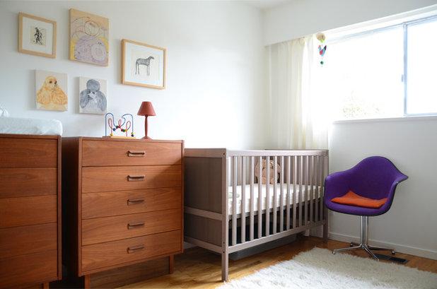 Midcentury Nursery by Jane Vorbrodt