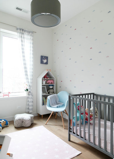 Scandinavian Nursery by Rachel Loewen Photography