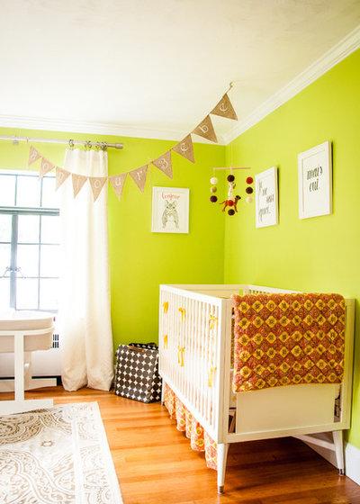 7 astuces pour int grer du vert une chambre de b b - Chambre de bebe dans une alcave ...