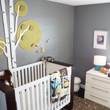 Modern Nursery by Design Style'd