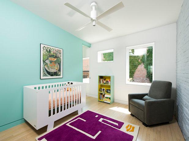 Scandinavian Nursery by E/L STUDIO