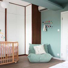 Modern Nursery by hoo Interior Design & Styling