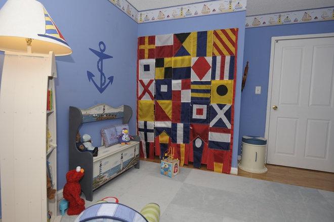 Eclectic Nursery by Peggy Berk - Area Aesthetics Interior Design