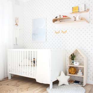 Neutral Nursery with Mustard Accents
