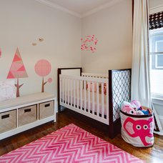 Contemporary Nursery by Mark Teskey Architectural Photography