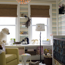 Contemporary Nursery by Thom Filicia Inc.