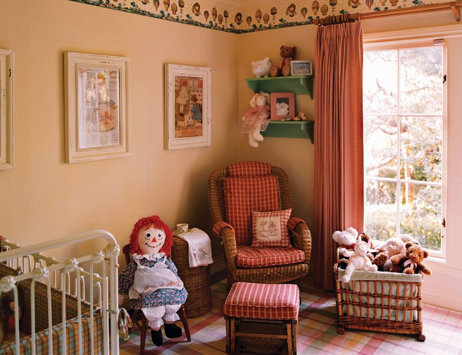 Traditional Nursery by Adeeni Design Group