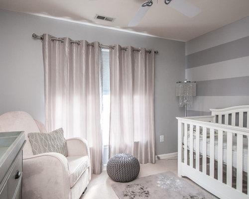 moderne babyzimmer mit grauen wänden - ideen & design - Moderne Babyzimmer
