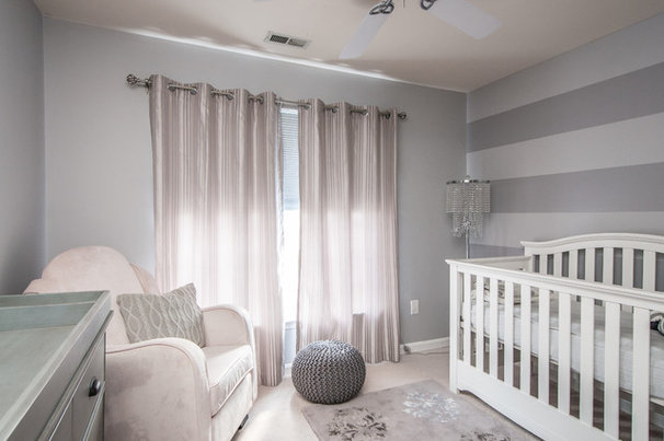 Contemporary Nursery by Interior Style by Marisa Moore