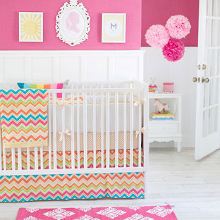 Inspiration for a traditional nursery in Jacksonville.