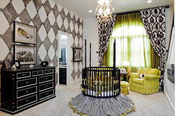 Traditional Nursery by Bravo Interior Design