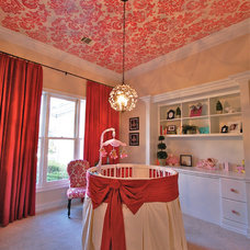 Traditional Nursery Nursery ceiling