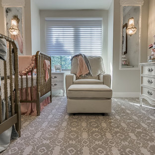 This is an example of a victorian nursery in Oklahoma City.