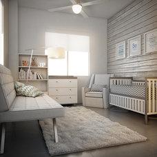 Transitional Nursery by Concepto MV Inc