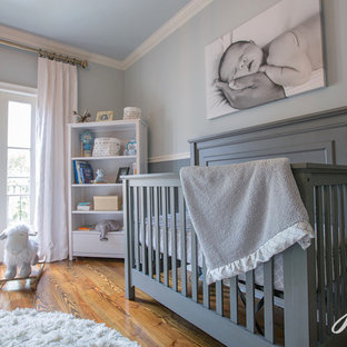 Rustikales Babyzimmer in New Orleans