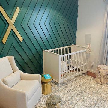 Nursery for baby Xander