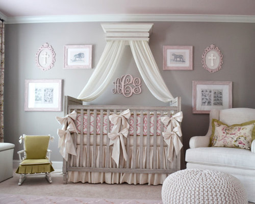 Gray And Pink Nursery Ideas, Pictures, Remodel And Decor