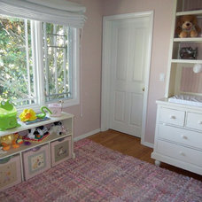 Traditional Nursery by Jill Seidner Interior Design