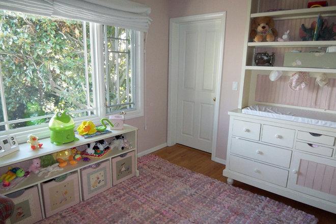 Traditional Nursery by Jill Seidner Interior Design