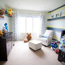 Contemporary Nursery by Jodie Rosen Design