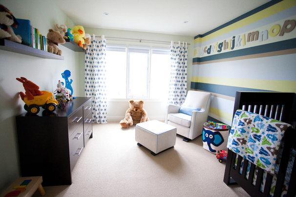 Contemporary Nursery by Jodie Rosen Design